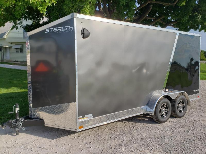 "Stealth Titan 7x16 +12"" (7' Interior Height)  Enclosed Cargo Trailer"