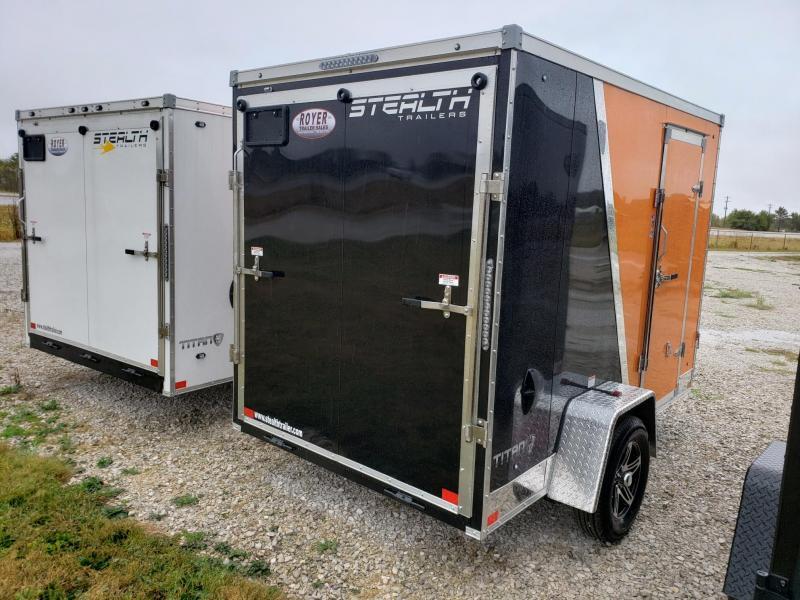 "Stealth Titan 6x10 +6"" (6'6"" Interior Height) Enclosed Cargo Trailer"
