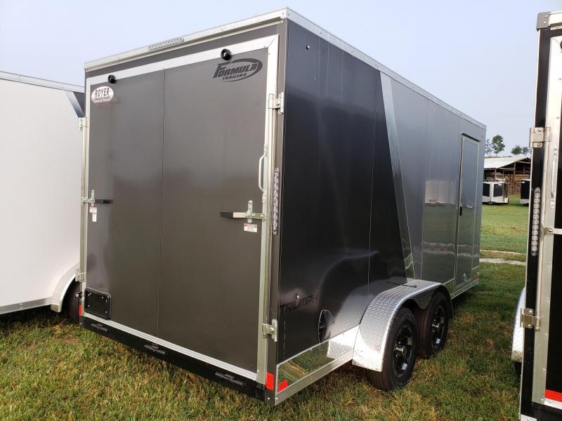 "Formula triumph 7x16+12"" (7' Interior Height) Enclosed Cargo Trailer"