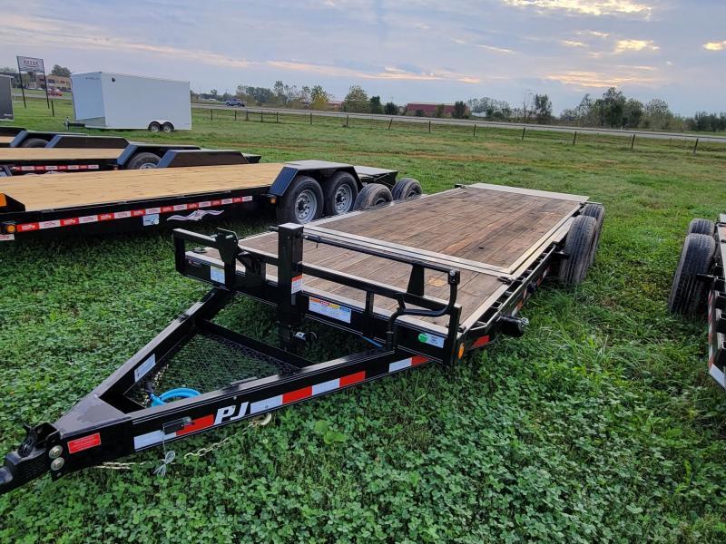 2022 PJ Trailers 83X20 14K TILT 16+4 Equipment Trailer