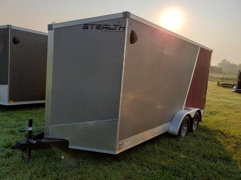 "Stealth Trailers 7X16 +12"" (7' INTERIOR HEIGHT) Enclosed Cargo Trailer"