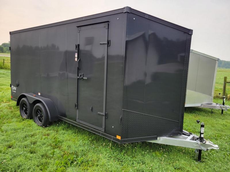 Stealth 7x16x7 Cobra (All-Aluminum) Enclosed Cargo Trailer