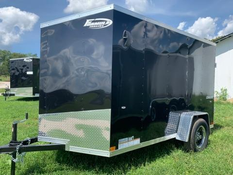 "6x10 +6"" (6'6"" Interior Height) Formula Traverse Enclosed Cargo Trailer"