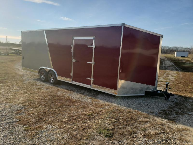 Stealth Titan 8.5x24x 7.5 Flash Pkg Enclosed Cargo Trailer