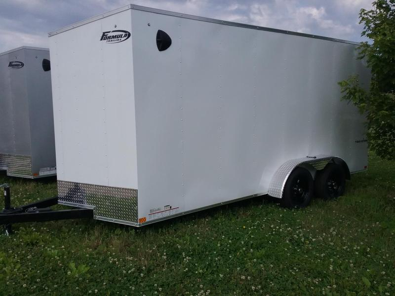 "2021 Formula 7X16 (+12"" ADDITIONAL HEIGHT) FORMULA TRAVERSE Enclosed Cargo Trailer"