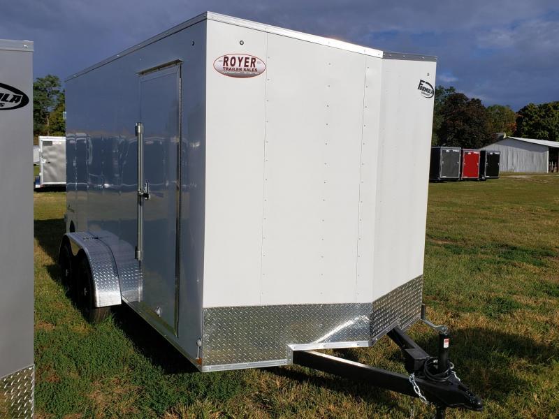 Formula Traverse 7x14x7 w/Barn Doors Enclosed Cargo Trailer
