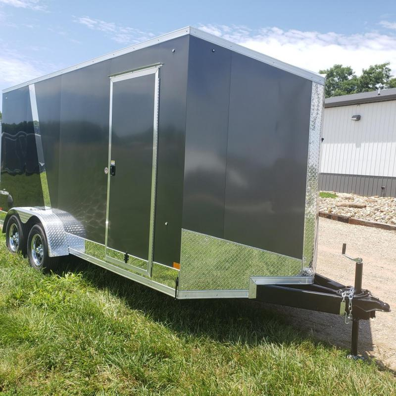 "Stealth Titan 7x16+12"" Height (7'Interior Height) Enclosed Cargo Trailer"