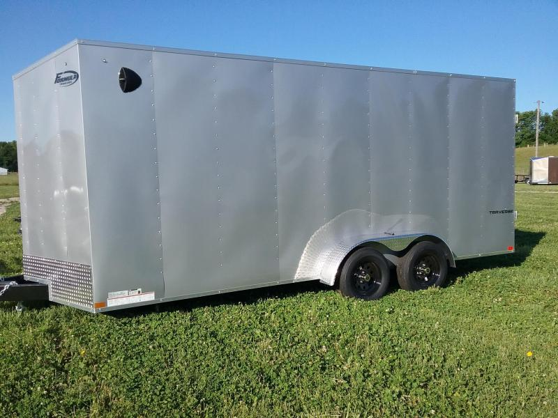 "2021 Formula 7X18 (+12"" ADDITIONAL HEIGHT) FORMULA TRAVERSE Enclosed Cargo Trailer"