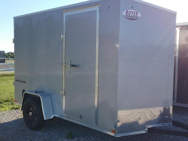 "2021 Formula 6X10 (+6"" ADDITIONAL HEIGHT) FORMULA TRAVERSE Enclosed Cargo Trailer"