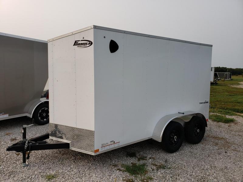 "Formula Traverse 6x12 +6"" Height(6'6"" Interior) Cargo/Enclosed Trailer"