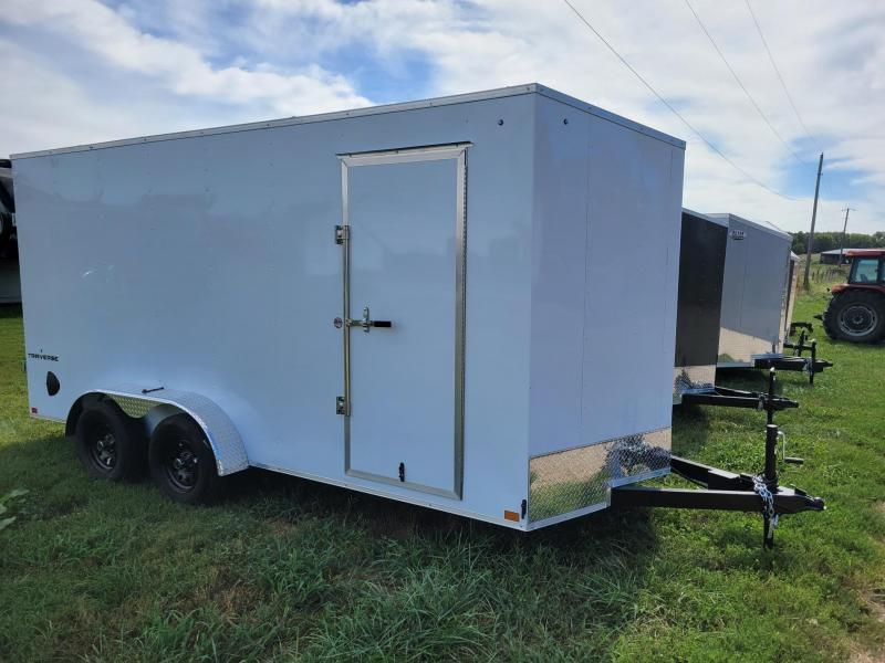 "Formula Traverse 7x16 +12"" (7' Interior Height) CARGO/Enclosed Trailer"