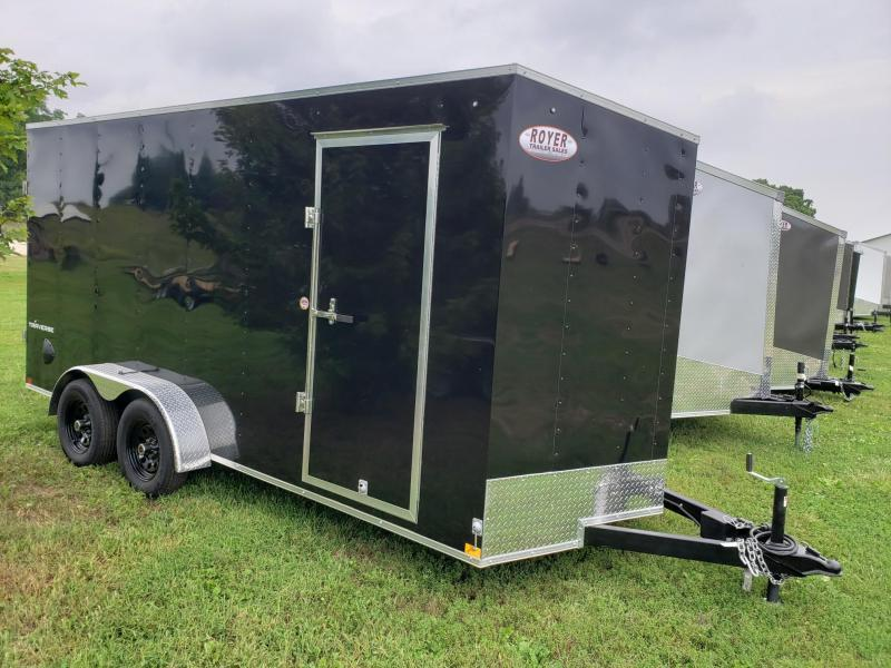 "2021 Formula Travers 7x16+12"" (7'Interior Height) Enclosed Cargo Trailer"