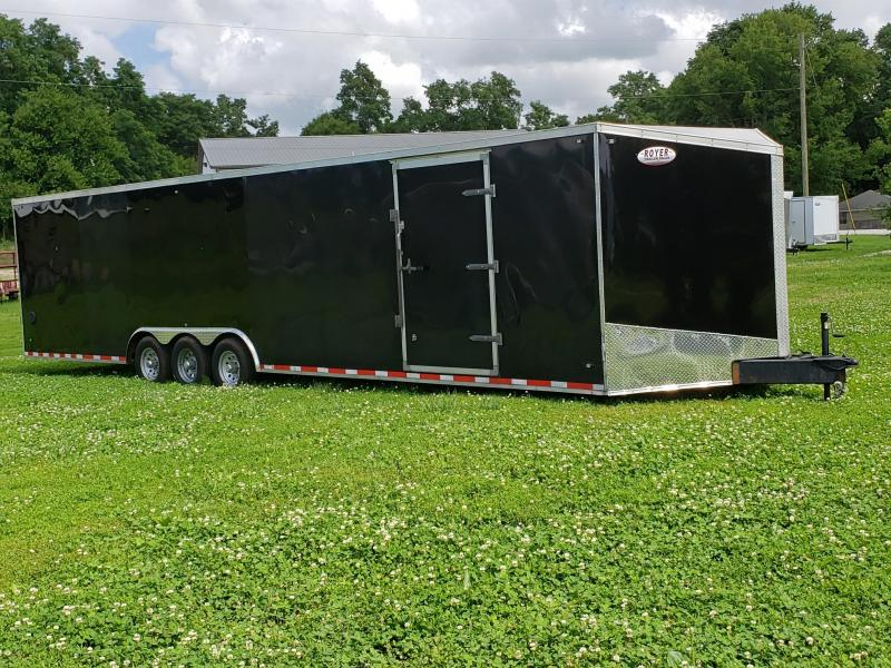 Used 2019 Stealth 8.5X34 Titan Enclosed Cargo Trailer