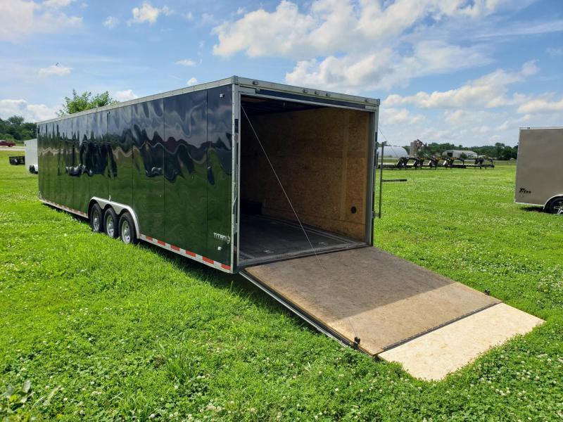 Used 2019 Stealth 8.5X34 Titan Enclosed Cargo Trailer
