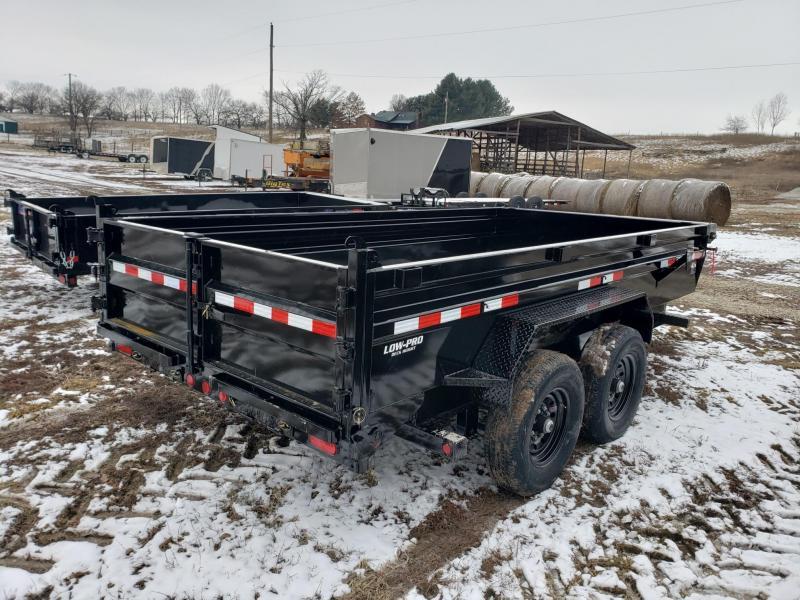 PJ 14K 83X7 Low Pro Dump Trailer
