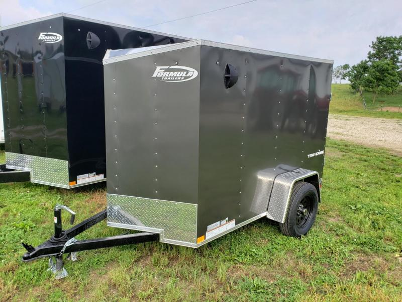 "2021 Formula 5X8 +6"" Height=5'6"" Interior Traverse Enclosed Cargo Trailer"