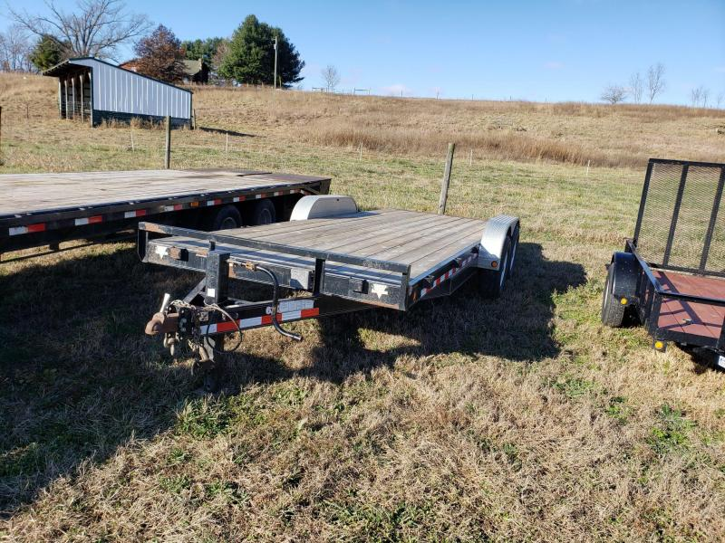 2007 PJ Trailers 82X20  Equipment Trailer