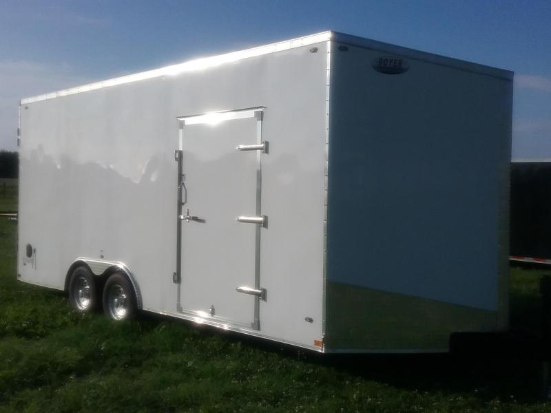 2020 Stealth Titan 10K 8.5X20 W/8' Interior Height Enclosed Cargo Trailer