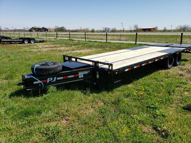 2020 PJ Trailers 25K Pintle Flatbed Trailer