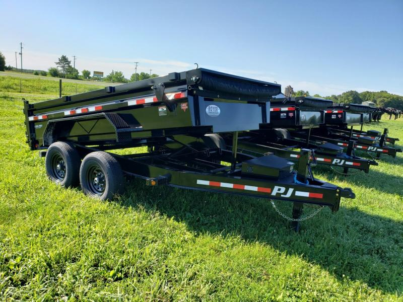 83x12 PJ Dump with Split Spreader Gate-Tarp Kit-Spare Mount $7795