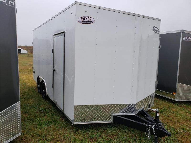 "Formula Traverse 8.5x18 +12"" (7'6"" Interior Height) Enclosed Cargo Trailer"