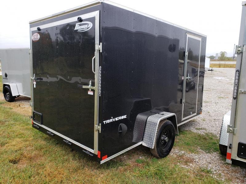 "Formula 7X12 + 6"" (6'6"" Interior Height) Traverse Enclosed Cargo Trailer"