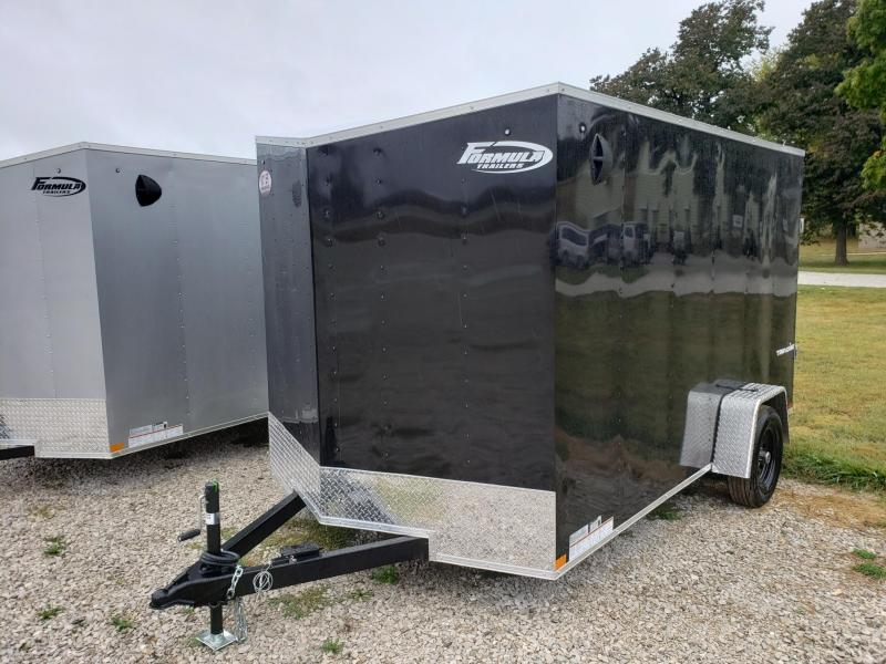 "Formula 7X12 + 6"" (6'6"" Interior Height) Traverse Enclosed Cargo Trailer"