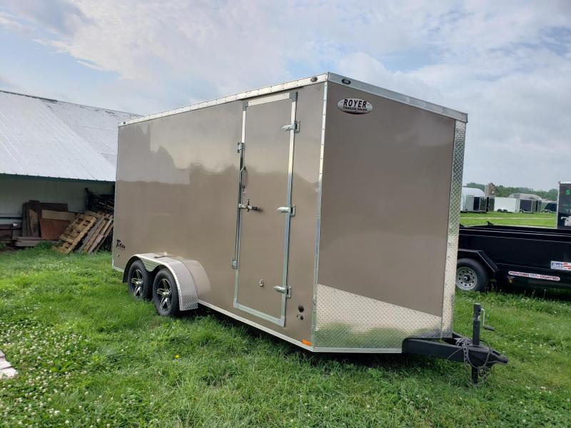 "2017 Stealth Trailers 7X16 +18"" Height Titan Enclosed Cargo Trailer"