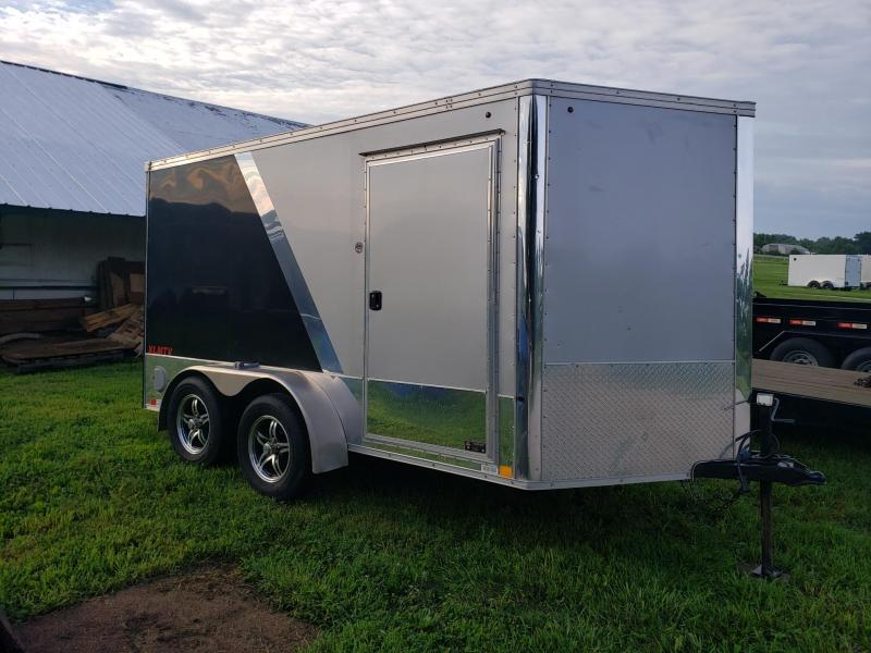 2016 United 7X12 BIKER SPECIAL Enclosed Cargo Trailer