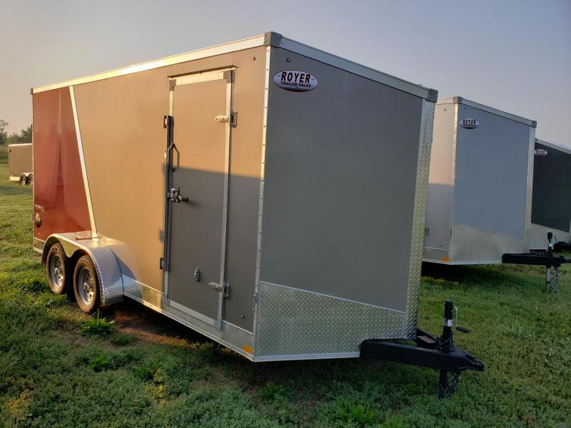 Stealth Trailers 7X16 +12 (7' Interior Height) Enclosed Cargo Trailer