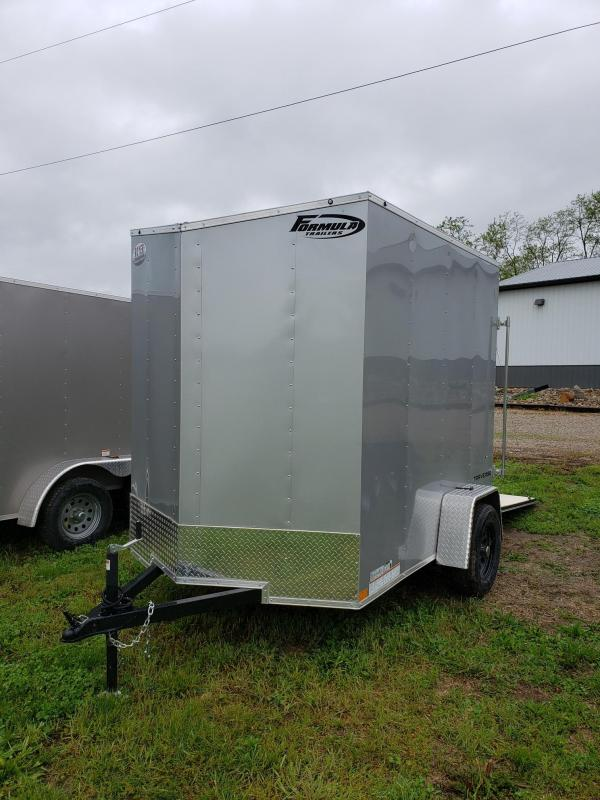 2020 Formula 5X8 TRAVERSE W/+18 Enclosed Cargo Trailer