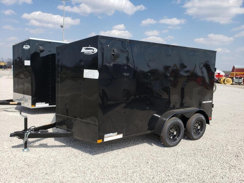 Formula 7.0X12 Traverse Enclosed Cargo Trailer