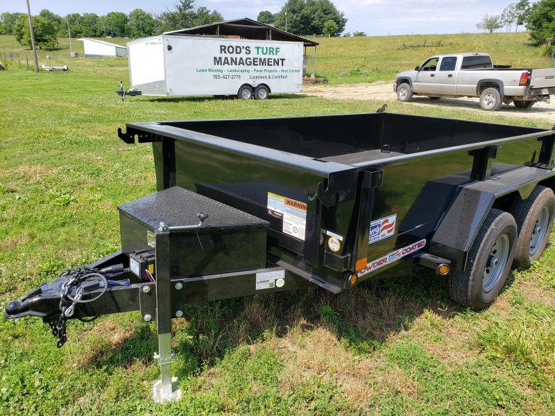 2020 10K LIBERTY 72X10 DUMP TRAILER WITH SPLIT GATE AND SLIDE IN RAMPS