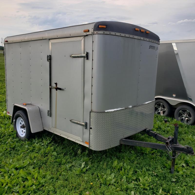 2008 Atlas Specialty Trailers 6X10 W/BARN DOORS Enclosed Cargo Trailer