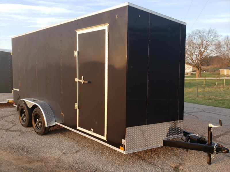 "7x16 (+12"" Additional Height) Formula Traverse Cargo Trailer"