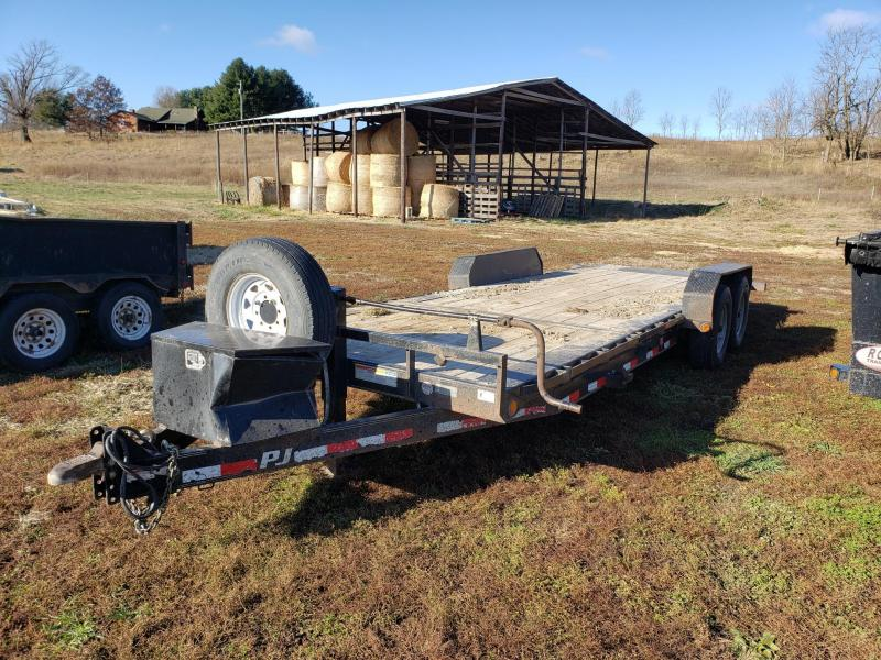 2019 PJ Trailers 16K 83X22 TILT Equipment Trailer