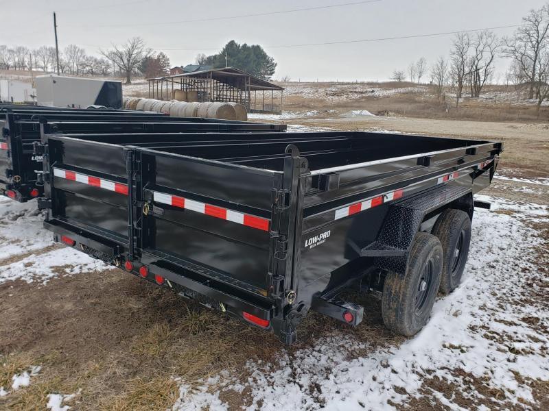 PJ 14K 83x14 Low Pro Dump Trailer