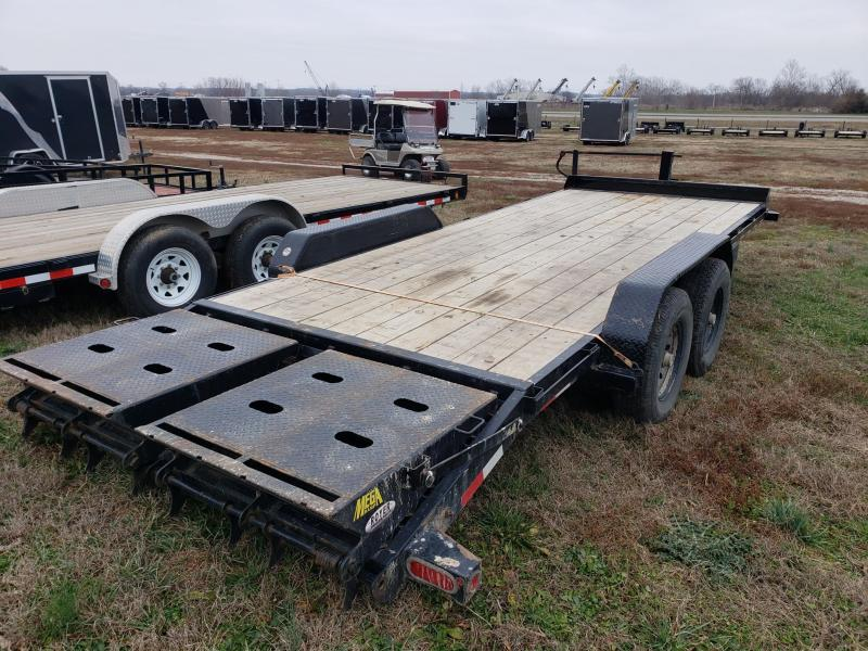 "2019 Big Tex 14ET-83""X20 w/Mega Ramps Equipment Trailer"