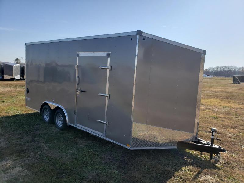 "Stealth Mustang 7K 8.5x18+12"" (7'6"" Interior Height) Enclosed Cargo Trailer"