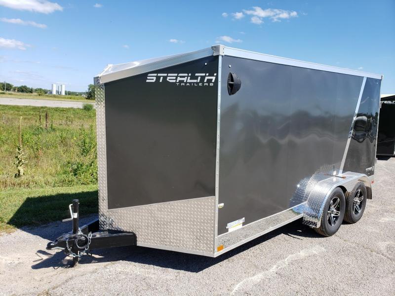 Stealth Titan 7x14  Flash Pkg Enclosed Cargo Trailer
