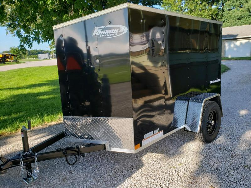 FORMULA TRAVSE 5X8 CARGO/ ENCLOSED TRAILER