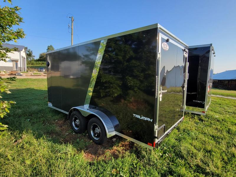 Formula 7X16X7 Triumph Enclosed Cargo Trailer