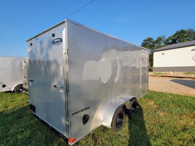 "Formula Traverse 7x14+6"" (6'6""Interior Height) CARGO/Enclosed Trailer"