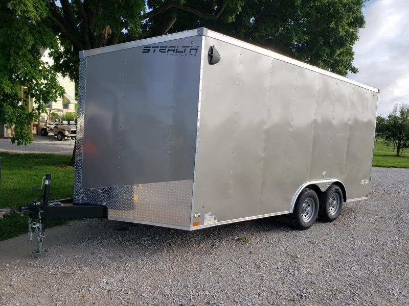 STEALTH MUSTANG 8.5X16X7 10K Enclosed Cargo Trailer