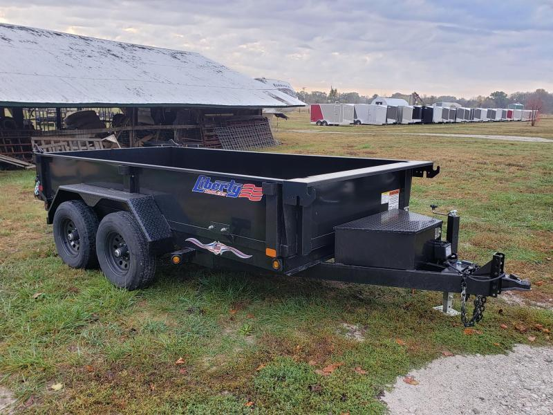 Liberty 10k 6x12 Dump Trailer w/Ramp Pkg