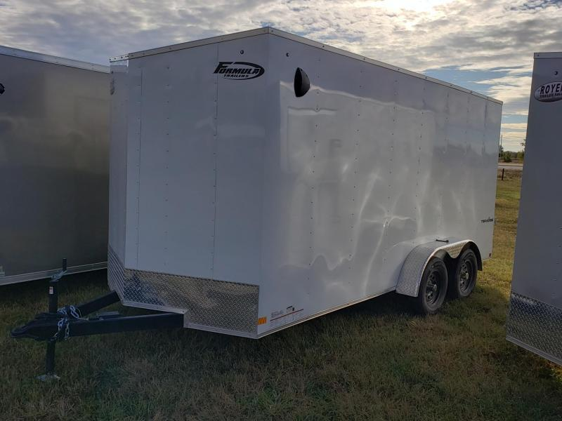 Formula Traverse 7x16x7 Enclosed Cargo Trailer