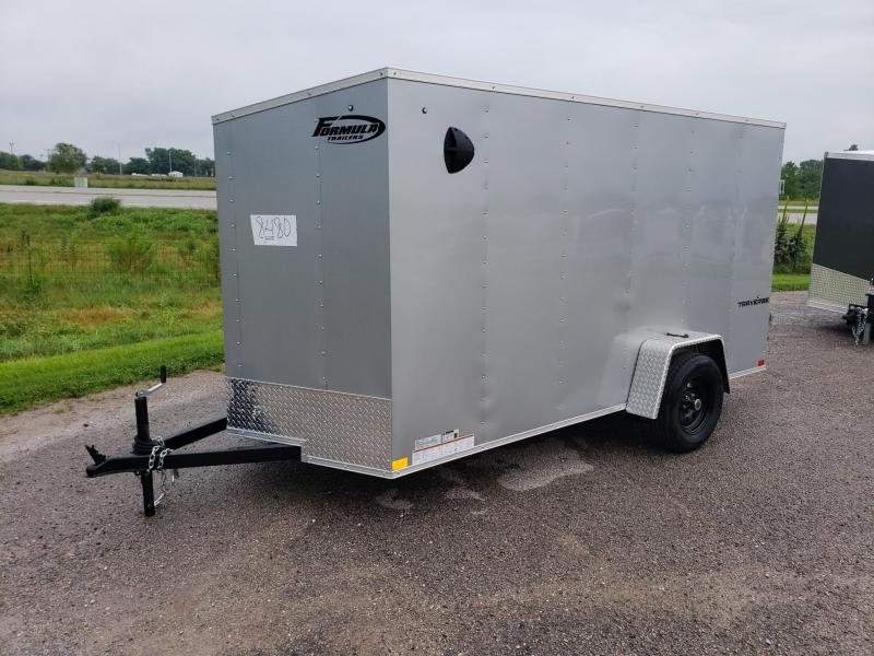 6X12 FORMULA TRAVERSE CARGO/ENCLOSED TRAILER