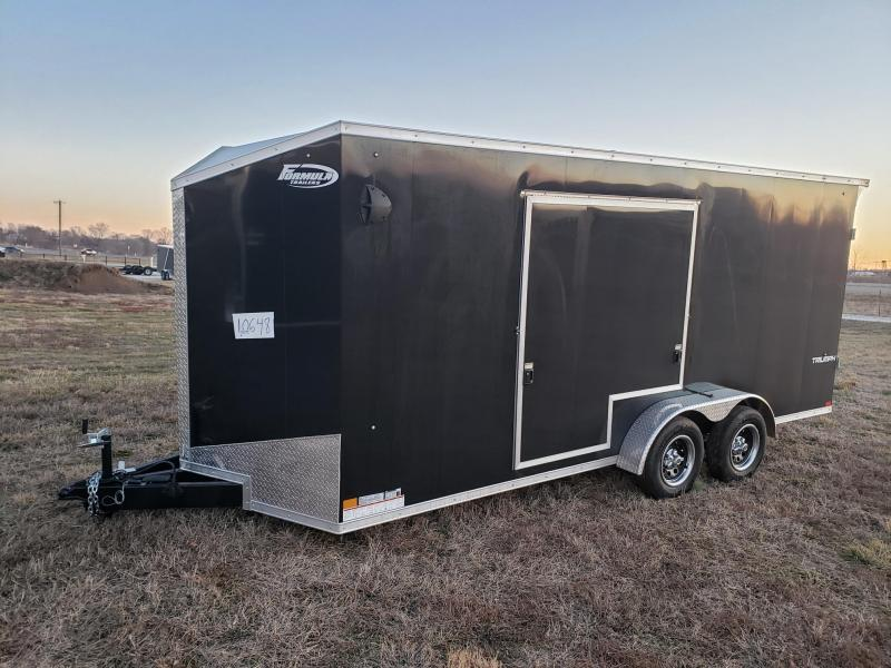 "Formula 7x18 Triumph +12"" Height Enclosed Cargo Trailer"