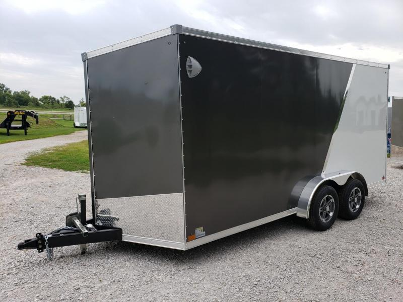 "2021 Sport 7x16 +12"" (7' Interior Height) Enclosed Cargo Trailer"