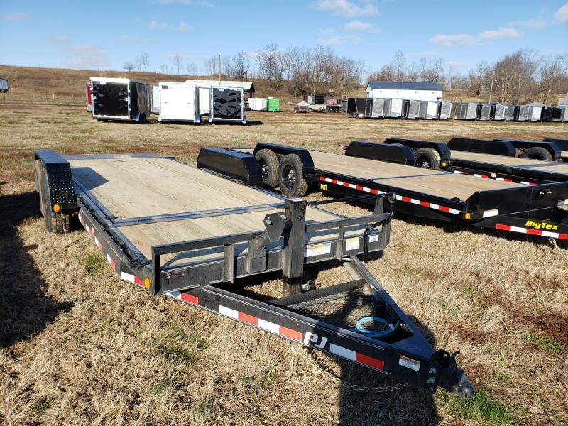 PJ Trailers 14K 83X20 Tilt Equipment Trailer
